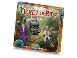 Ticket to Ride - The Heart of Africa: Map Collection 3
