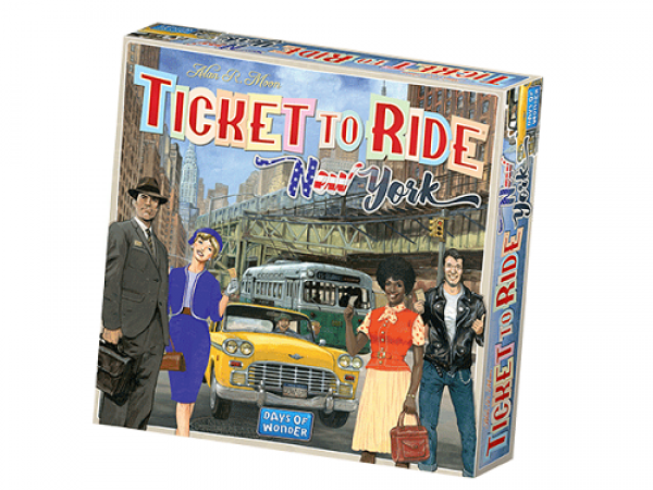 Ticket to Ride Express: New York City 1960 - EN