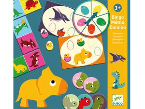 Dinosaury – Tri vzdelávacie hry
