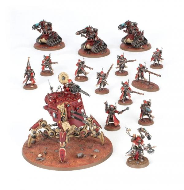 Warhammer 40000: Adeptus Mechanicus Combat Patrol