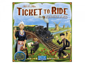 Ticket to Ride - Nederland: Map Collection 4