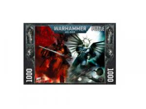 Gulliman vs Abaddon - Warhammer 40K 1000 Piece Puzzle