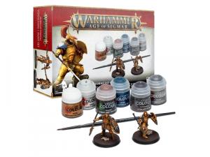 Warhammer Age of Sigmar: Stormcast Eternals - Vindictors + Paints Set