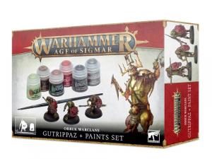 Warhammer Age of Sigmar: Orruk Warclans - Gutrippaz + Paints Set