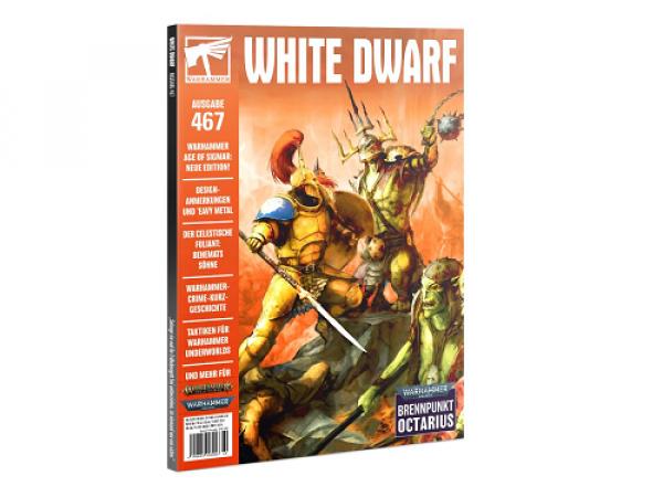 Warhammer White Dwarf 467 (8/2021)
