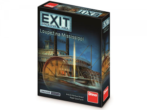 EXIT Úniková hra: Loupež na Missisippi