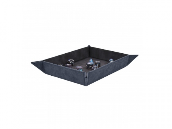 Foldable Dice Rolling Tray - Sapphire