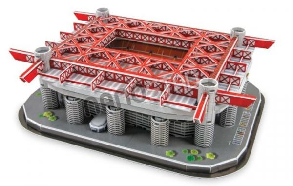 NANOSTAD: 3D puzzle - San Siro (Inter Miláno)