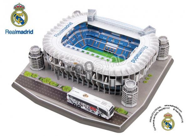 NANOSTAD: 3D puzzle - Santiago Bernabeu (Real Madrid CF)