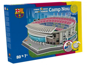 NANOSTAD: 3D puzzle - Nou Camp (Barcelona)