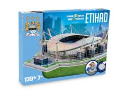 NANOSTAD: 3D puzzle - Etihad (Machester City)