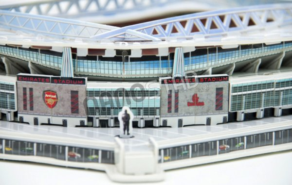 NANOSTAD: 3D puzzle - Emirates Stadium (Arsenal FC)
