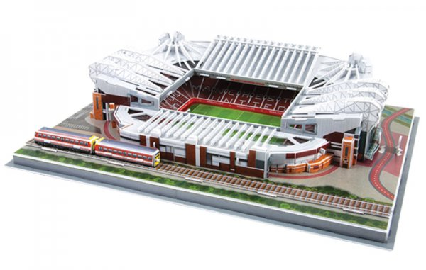 NANOSTAD: 3D puzzle - Old Trafford (Manchester United)