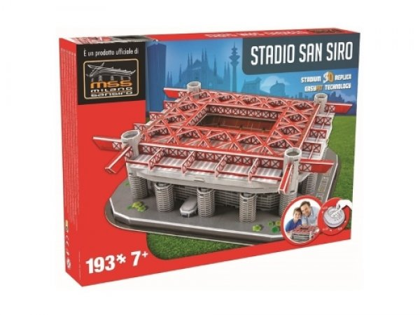 NANOSTAD: 3D puzzle - San Siro (AC Miláno)