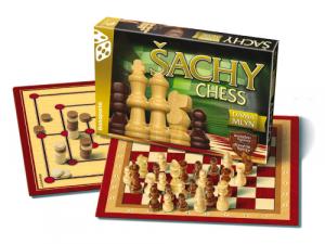 Šachy, Dáma, Mlyn - klasik