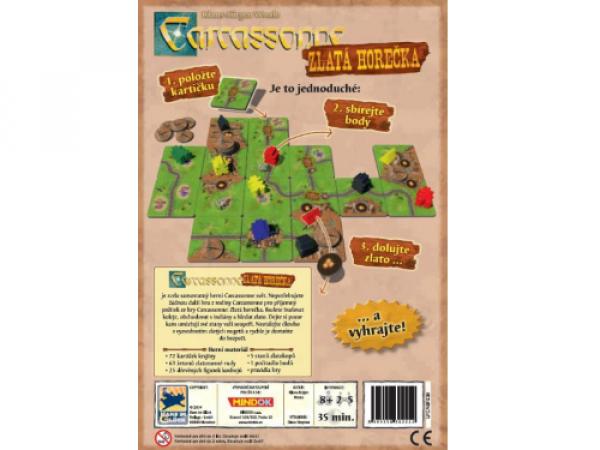 Carcassonne: Zlatá horečka