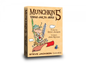 Munchkin 5: Vedle jak ta jedle
