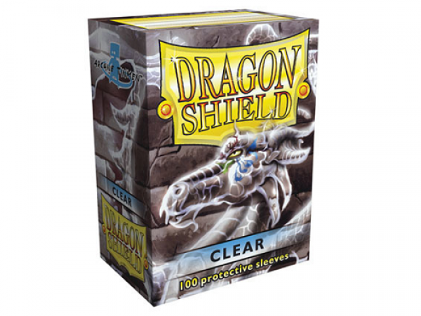 Sleeves Dragon Shield Standard Clear - 100ks