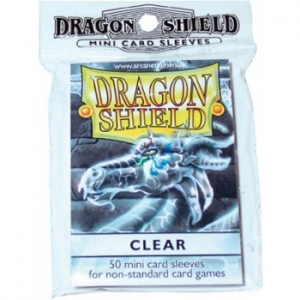 Sleeves Dragon Shield Standard Clear - 50ks