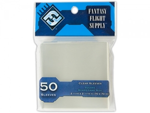 Sleeves FFG Square Clear - 50ks