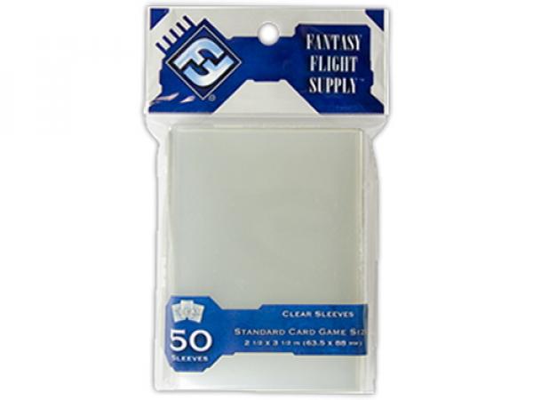 Sleeves FFG Standard Card Game Clear - 50ks