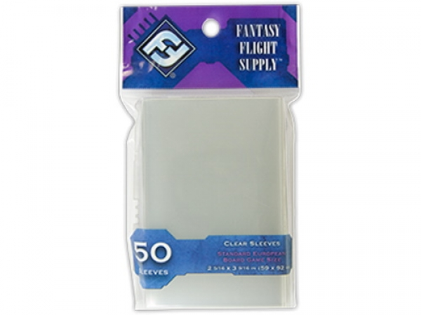 Sleeves FFG Standard European Clear - 50ks