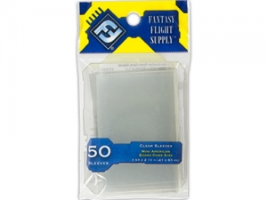 Sleeves FFG Mini American Clear - 50ks
