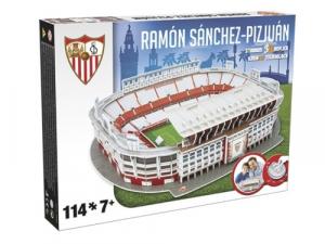 NANOSTAD: 3D puzzle - Sanchez Pizjuan (Sevilla)