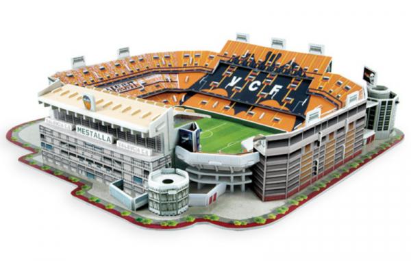 NANOSTAD: 3D puzzle - Mestalla (Valencia)
