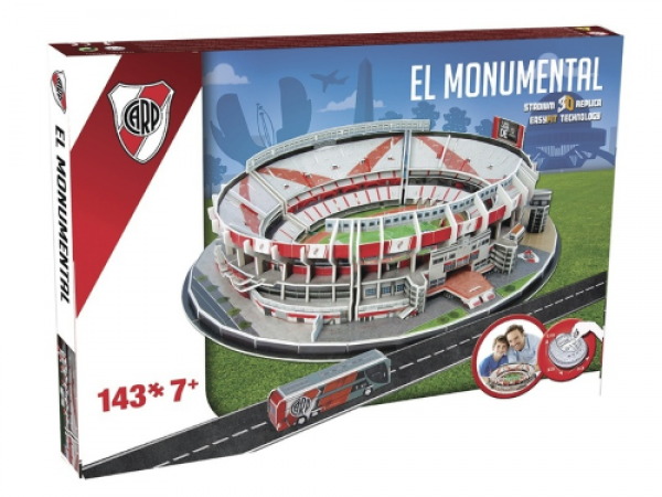 NANOSTAD: 3D puzzle - El Monumental (River Plate)