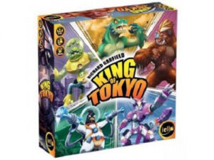 King of Tokyo 2nd Ed. (Vládce Tokia)
