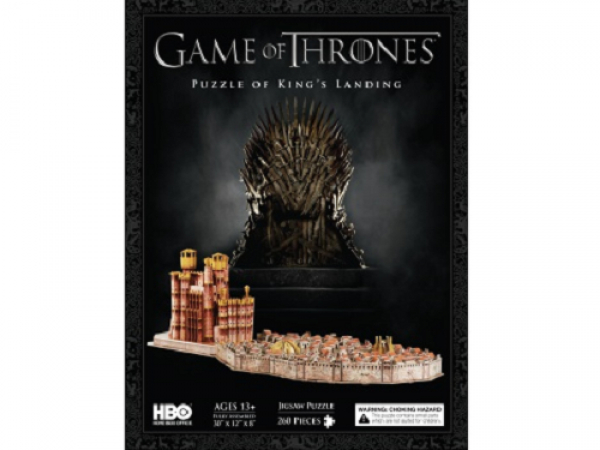4D Cityscape: 3D puzzle - Game Of Thrones / King's Landing
