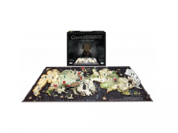 4D Cityscape: 3D puzzle - Game Of Thrones Puzzle of Westeros