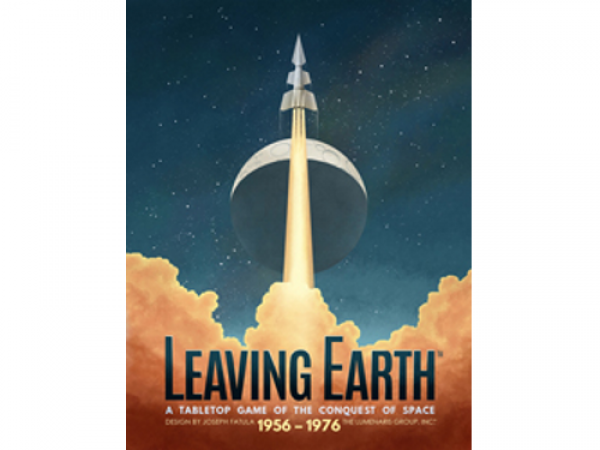 Leaving Earth: Base game with Mercury Expansion