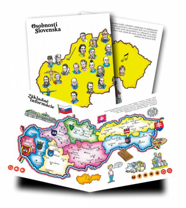 Albi Kúzelné čítanie - kniha Slovensko