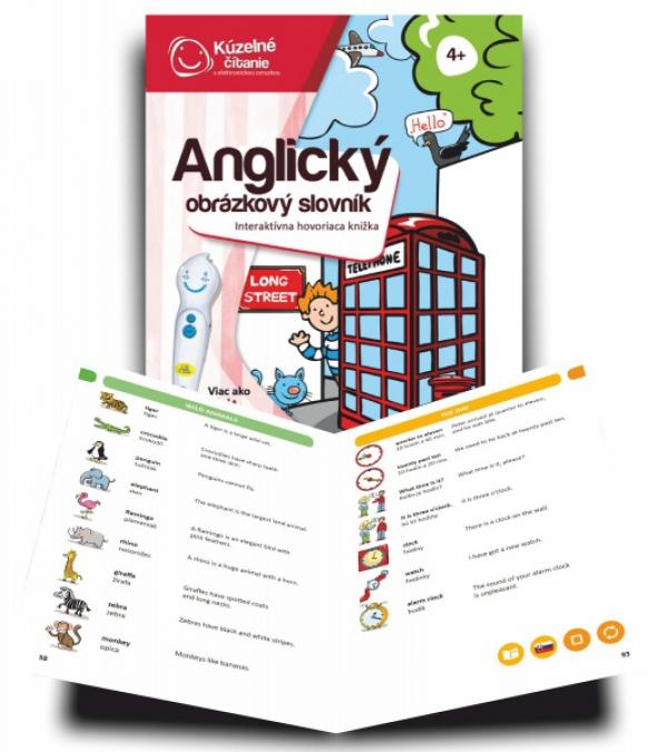 Albi Kúzelné čítanie - Anglický obrázkový slovník