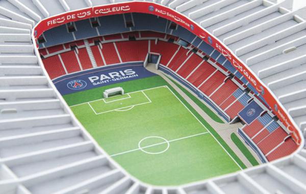 NANOSTAD: 3D puzzle - Parc des Princes (PSG)