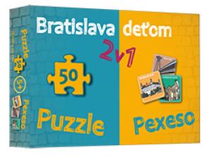 Bratislava deťom - pexeso a puzzle