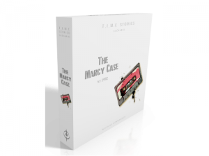 T.I.M.E Stories expansion: The Marcy Case 1992 - EN