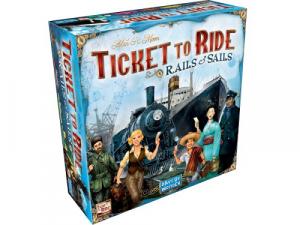 Ticket to Ride - Rails & Sails - EN